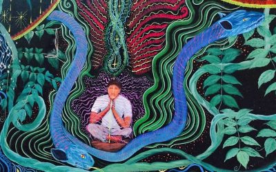 Sitting with Mother Ayahuasca